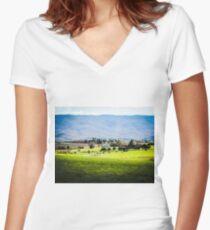 Zen Women's Fitted V-Neck T-Shirt