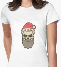 bad santa. Santa skull T-Shirt