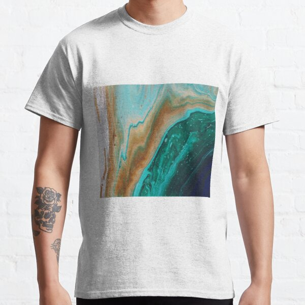 Emerald Ocean painted by Minisa Robinson Classic T-Shirt