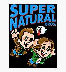 Super Natural Bros Photographic Print
