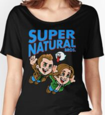 Super Natural Bros Women's Relaxed Fit T-Shirt
