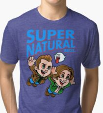Super Natural Bros Tri-blend T-Shirt