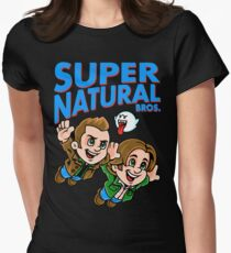 Super Natural Bros Women's Fitted T-Shirt