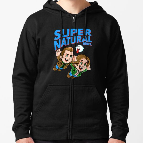 Super Natural Bros Zipped Hoodie