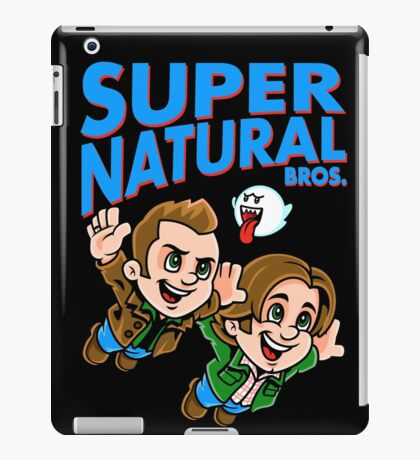 Super Natural Bros iPad Case/Skin