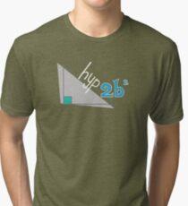 Hyp 2b(squared) - blue Tri-blend T-Shirt