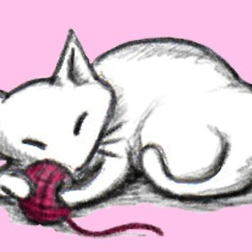Yarn Kitty - pink edition de sophielk
