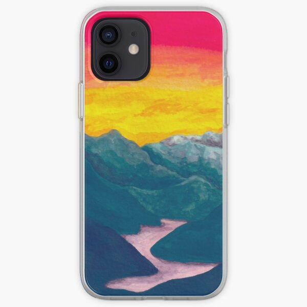 Sunset (Pools of Pink) iPhone Soft Case