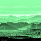 Verdant Hills Of The Tonto by Mike Herdering