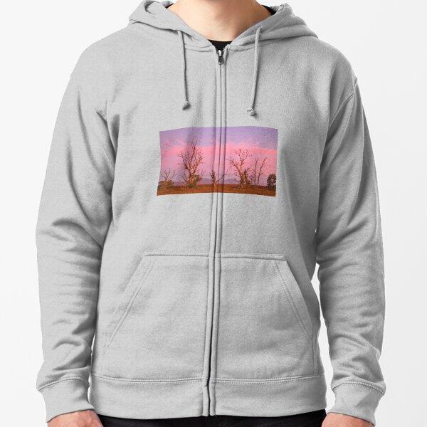 Flinders Sunset Zipped Hoodie