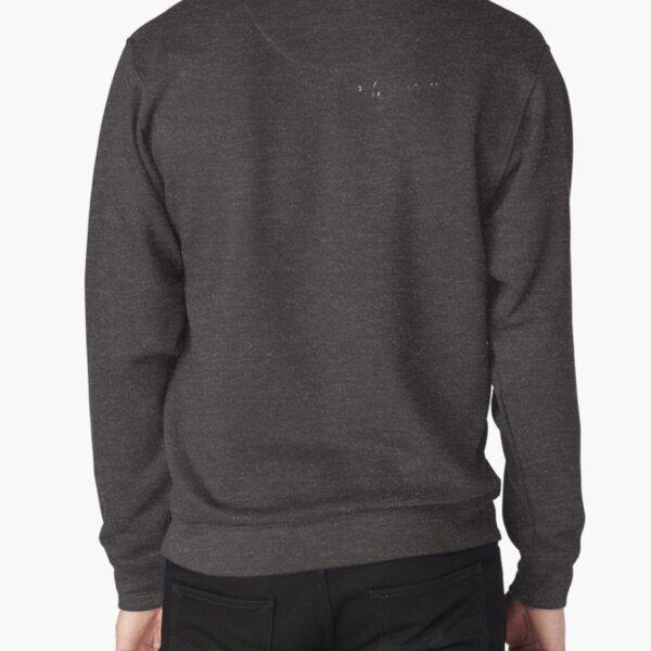 Comfort White Tee Pullover Sweatshirt