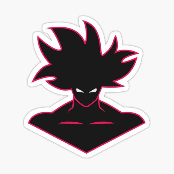 Goku face illustration Sticker