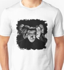 Classic Monsters Black & White POP! Slim Fit T-Shirt