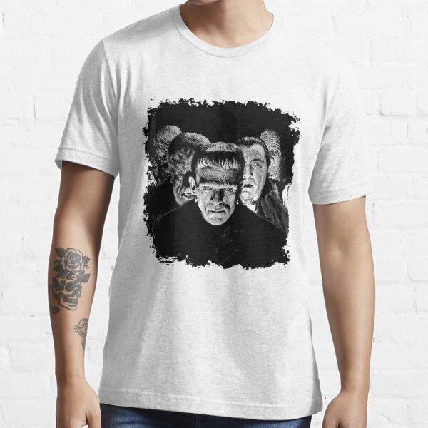 Classic Monsters Black & White POP! Essential T-Shirt
