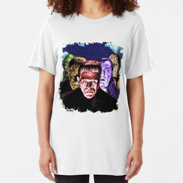 Classic Monsters COLOR POP! Slim Fit T-Shirt