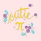 Cutie Pi (Pink) by funmaths