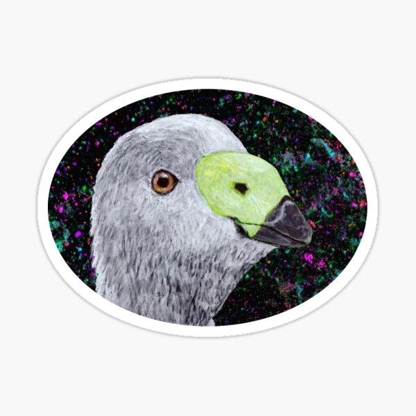 Trippy Goose Sticker