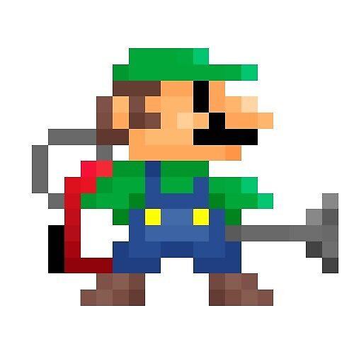 Luigi's 8-Bit Mansion by Austin (QU4D) Canizales