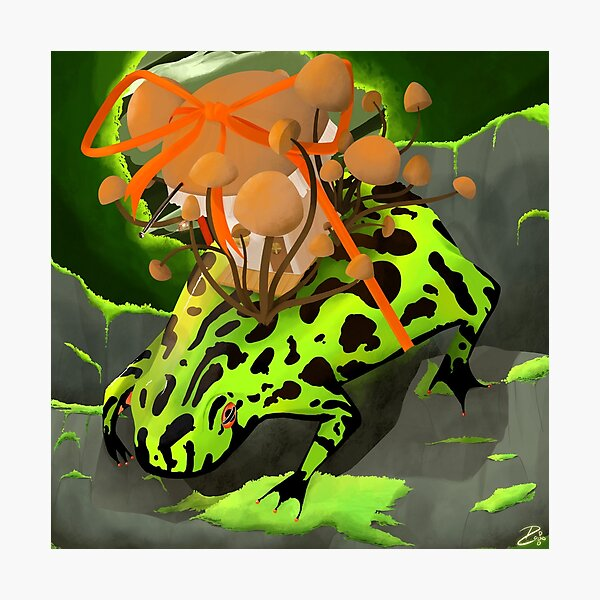 Frogust Firebelly Photographic Print