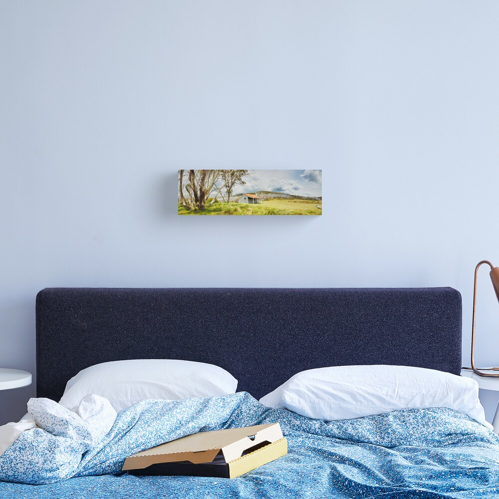 Bradleys & O'Briens Hut, Kosciuszko, New South Wales, Australia Canvas Print