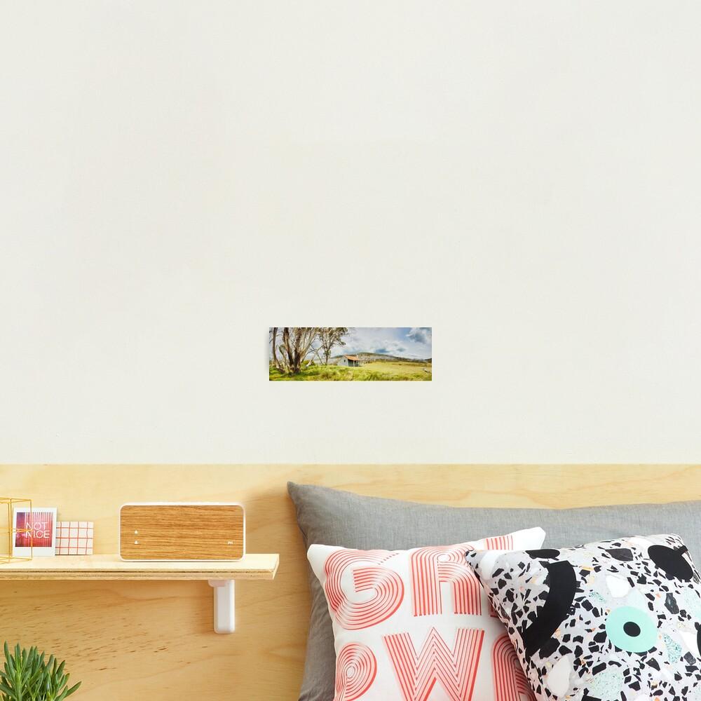 Bradleys & O'Briens Hut, Kosciuszko, New South Wales, Australia Photographic Print