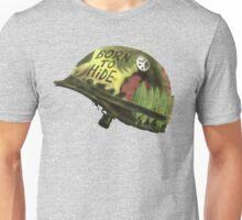 Born to Hide helmet Unisex T-Shirt