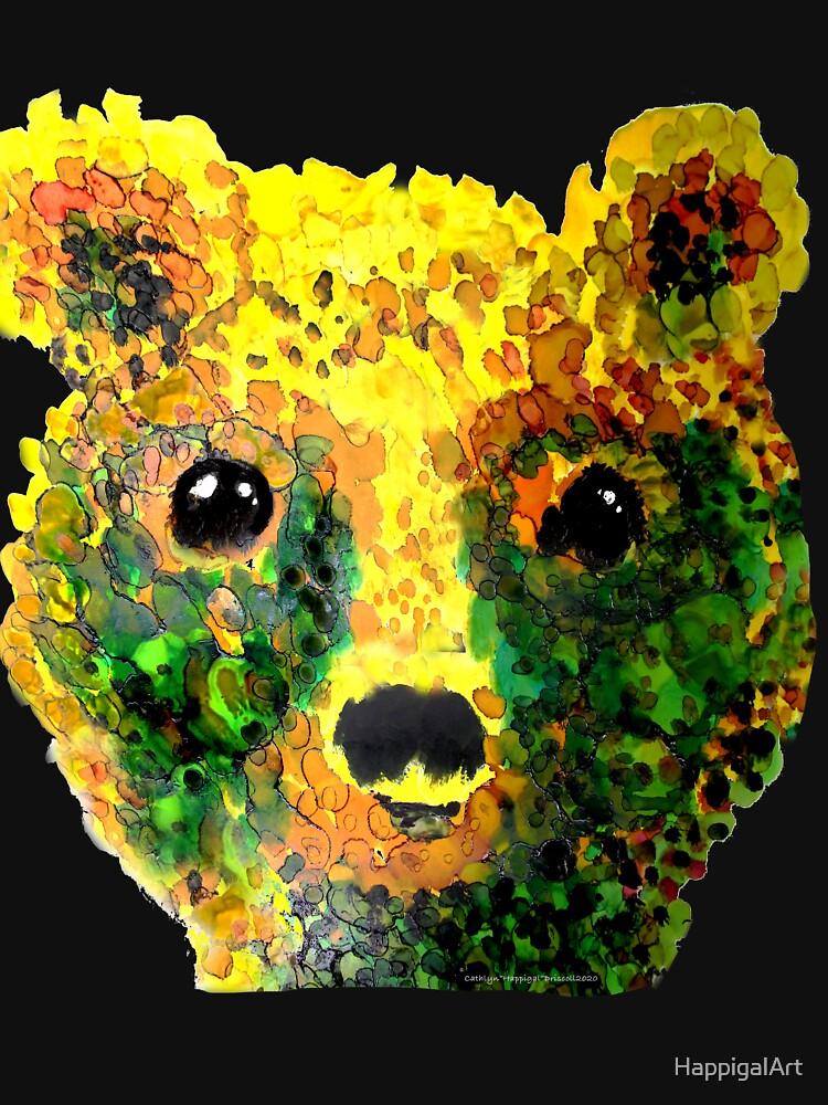 Baby Bear Bobby by HappigalArt