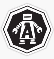 jimmy the robot!  Sticker