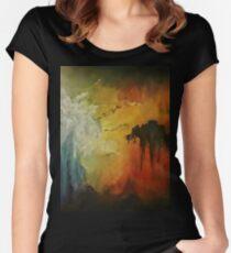 OVERHANG Women's Fitted Scoop T-Shirt