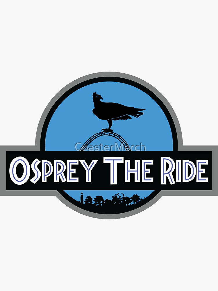 Osprey The Ride - Velocicoaster Design by CoasterMerch