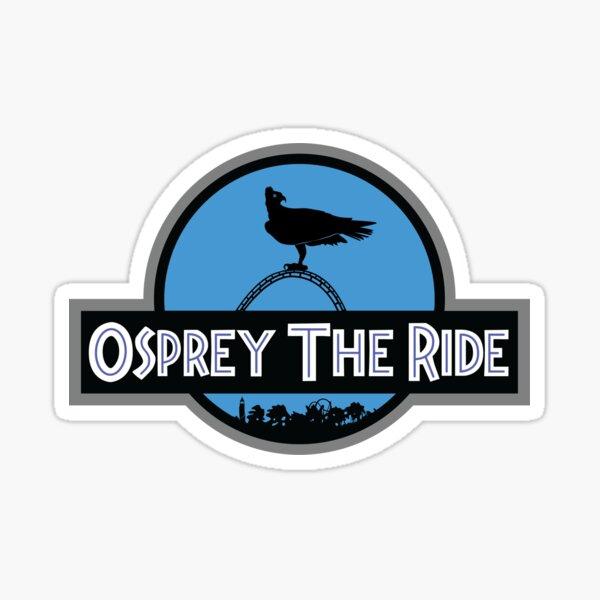 Osprey The Ride - Velocicoaster Design Sticker