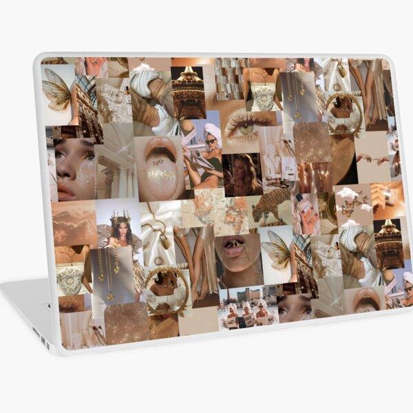gold & boujee collage Laptop Skin