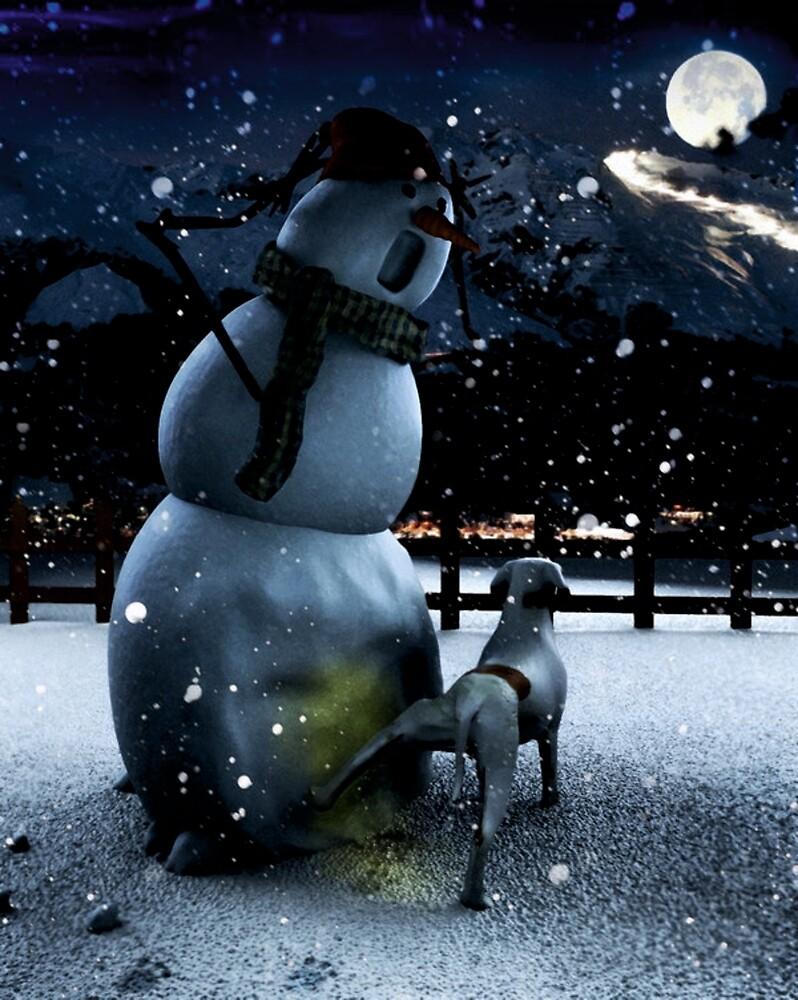 snowman work 1 by akmanm