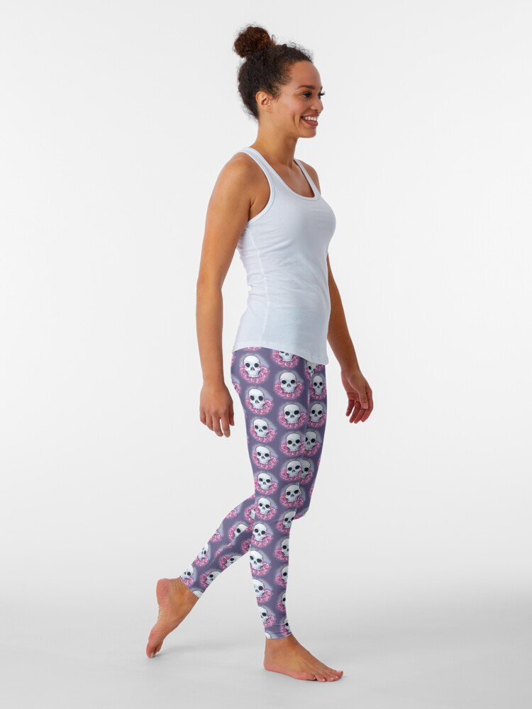 Alternate view of Nuwave Memento Mori Leggings