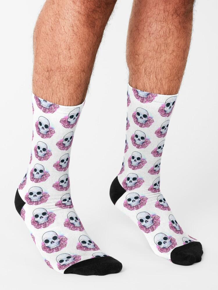 Alternate view of Nuwave Memento Mori Socks