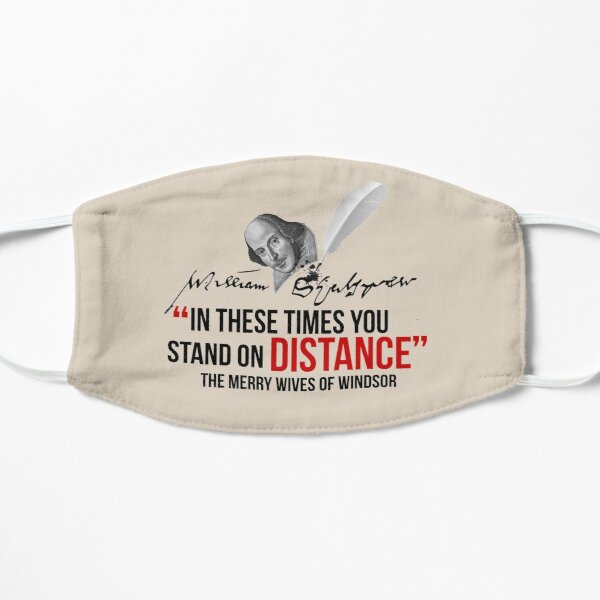 Shakespeare Distance Mask