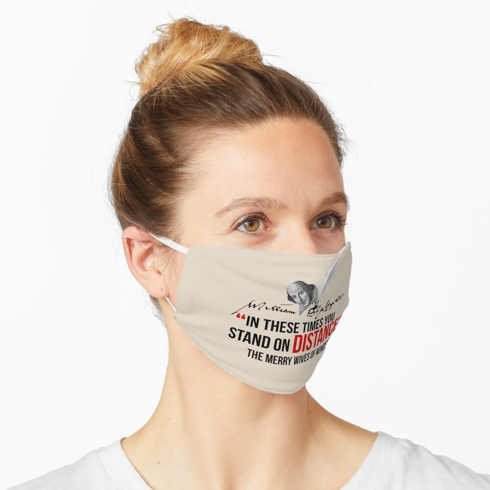 Shakespeare Distance Mask