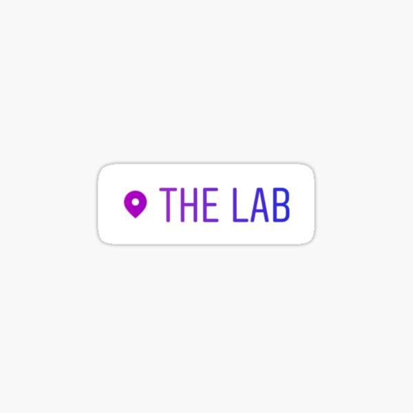 The Lab Location Sticker