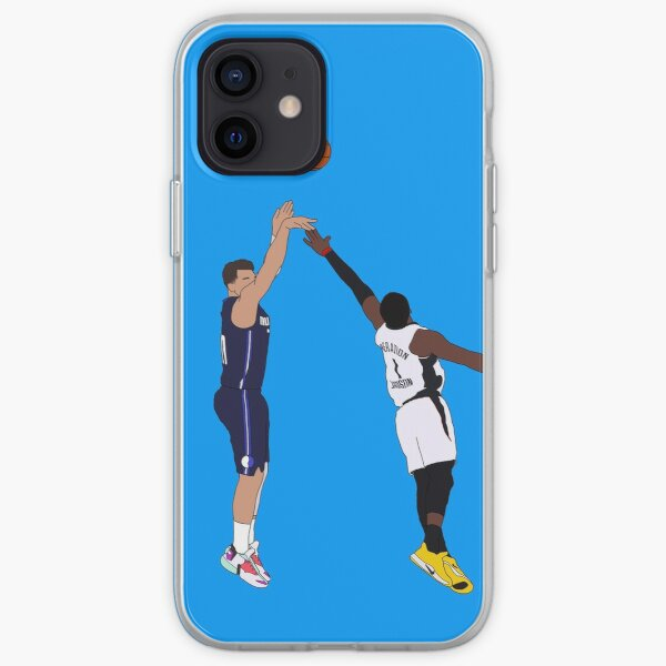 Luka Doncic Game Winner Over the Los Angeles Clippers iPhone Soft Case