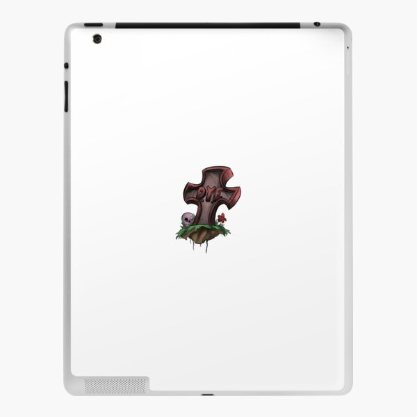 Clear DYE Logo iPad Skin