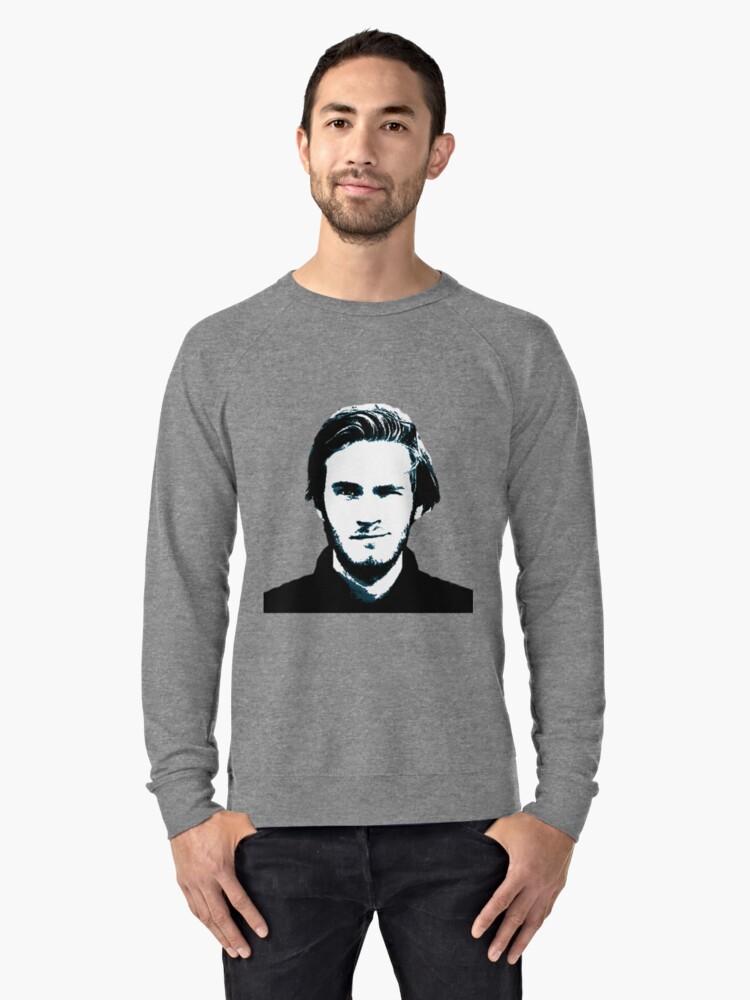 Pewds Lightweight Sweatshirt Front