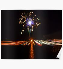 Welcome 2014 Fireworks Poster