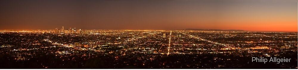 LA at Dusk by Philip Allgeier