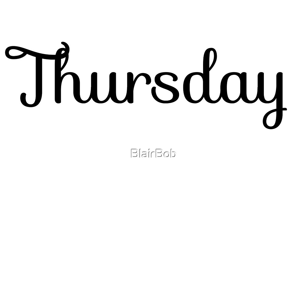 Thursday by BlairBob