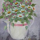 Daisy Tea by carpetdiamond