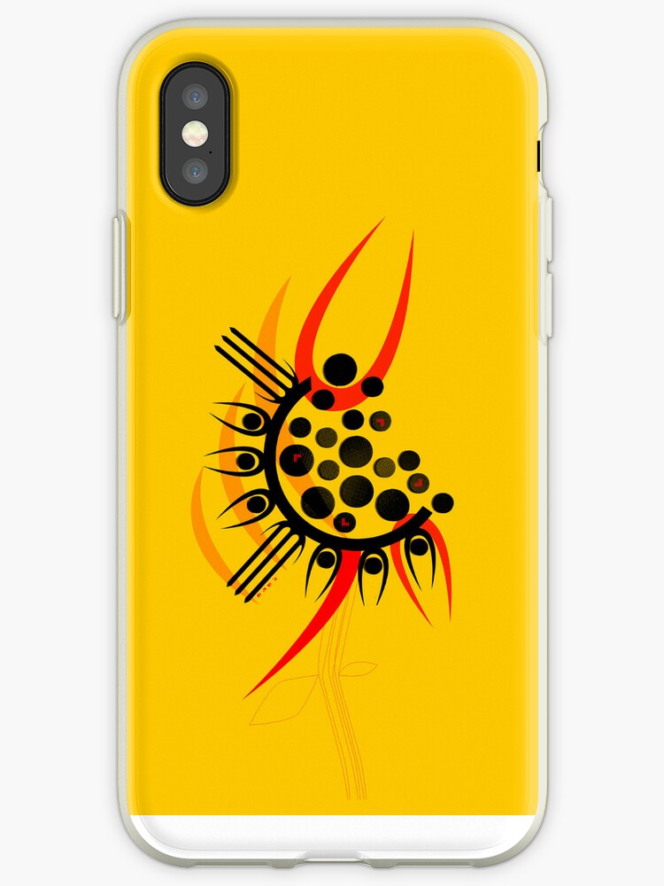 sunflower -iPhone case by nikhori