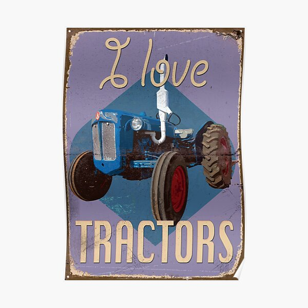 TractorPosterDX_01a Poster