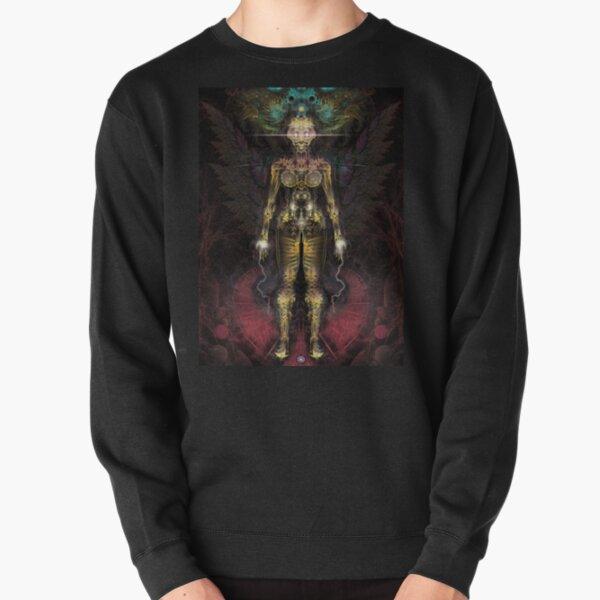 Fractal GOD - Angel Pullover Sweatshirt