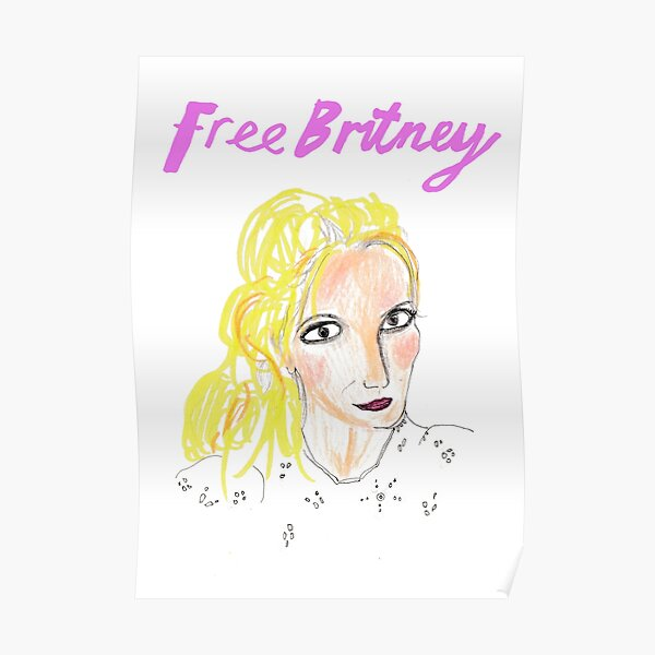 Free Britney Poster