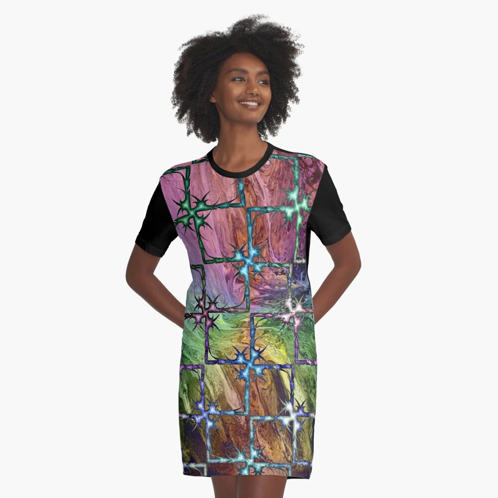 Perilous Graphic T-Shirt Dress